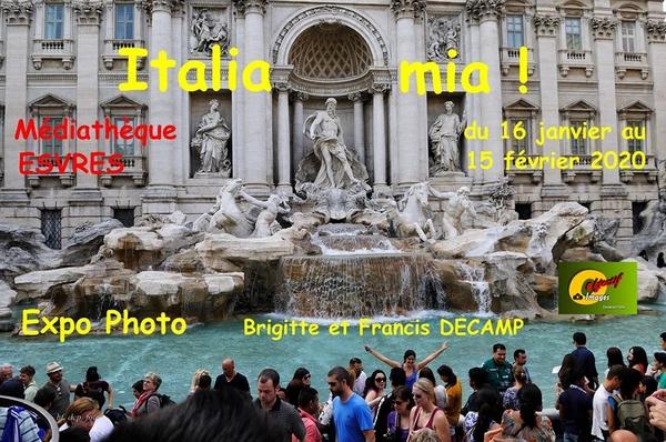 Italia Mia - Exposition photos sur le thème de l'Italie proposée par Brigitte et Francis DECAMP
