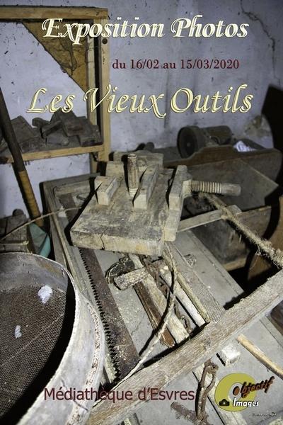 Les Vieux Outils - Exposition photos sur le thème des vieux outils par les membres du club photo d'Esvres